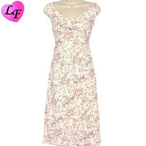 Sweetheart Dress Cherry Blossom Type Pattern Sz 9